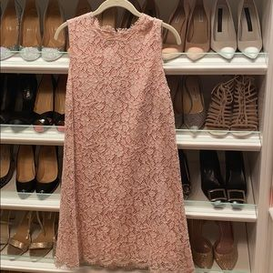 Gorgeous Blush Dolce and Gabbana Lace Dress